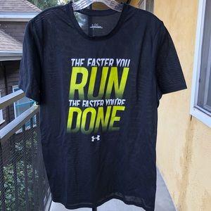 UnderArmour  Dri Fit T Shirt Men's Medium